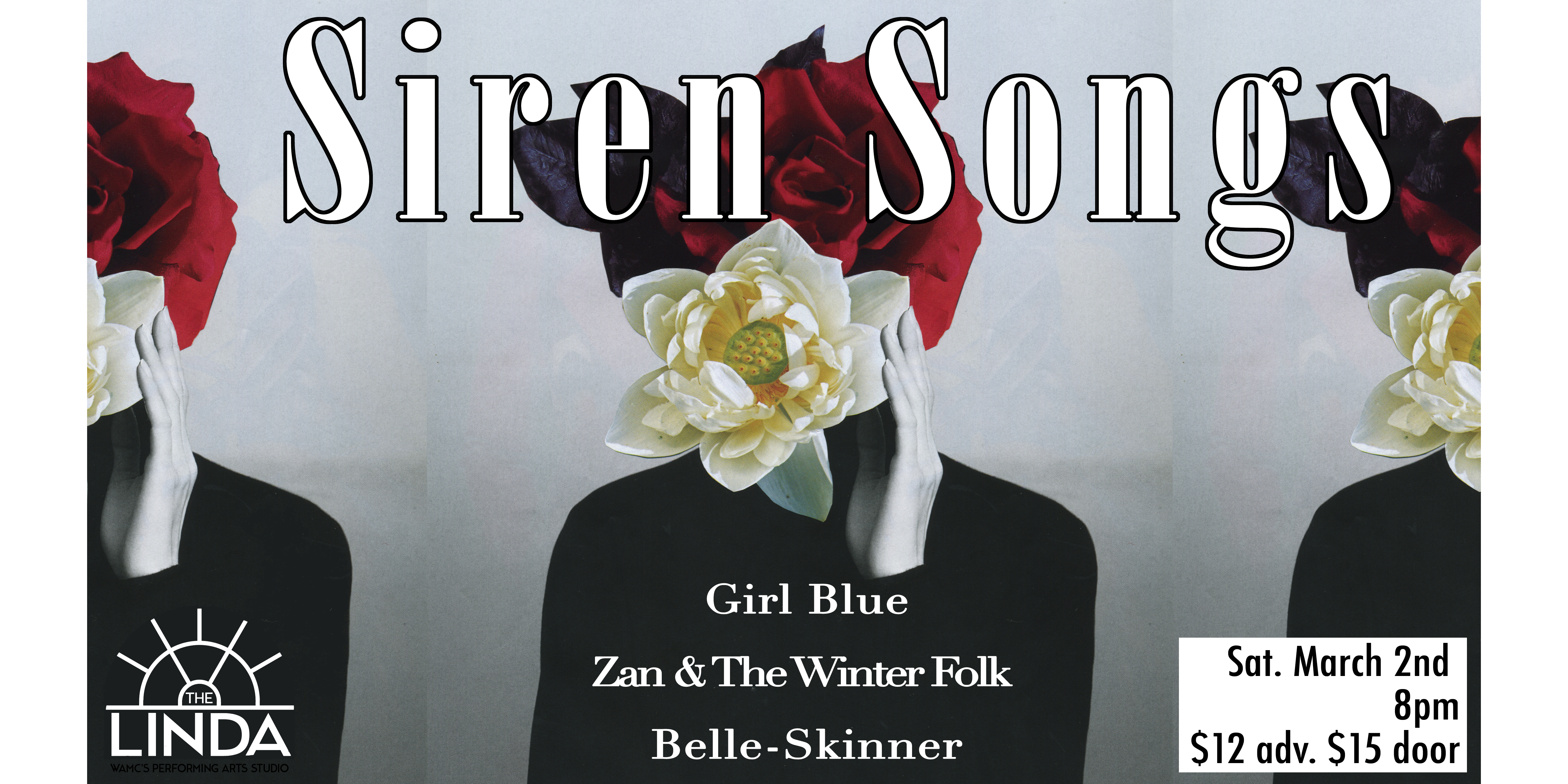 SIREN SONGS: featuring Girl Blue, Zan and the Winter Folk, and Belle Skinner