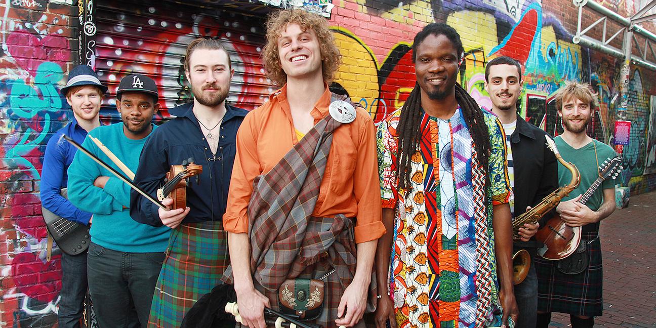 SOULSHA | Afro-Celtic Funk