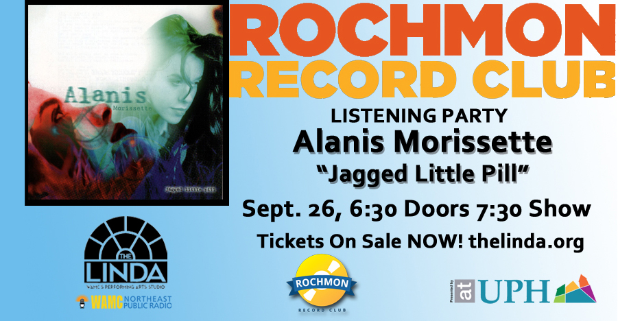 "Rochmon Record Club | Alanis Morissette ""Jagged Little Pill"" Listening Party"