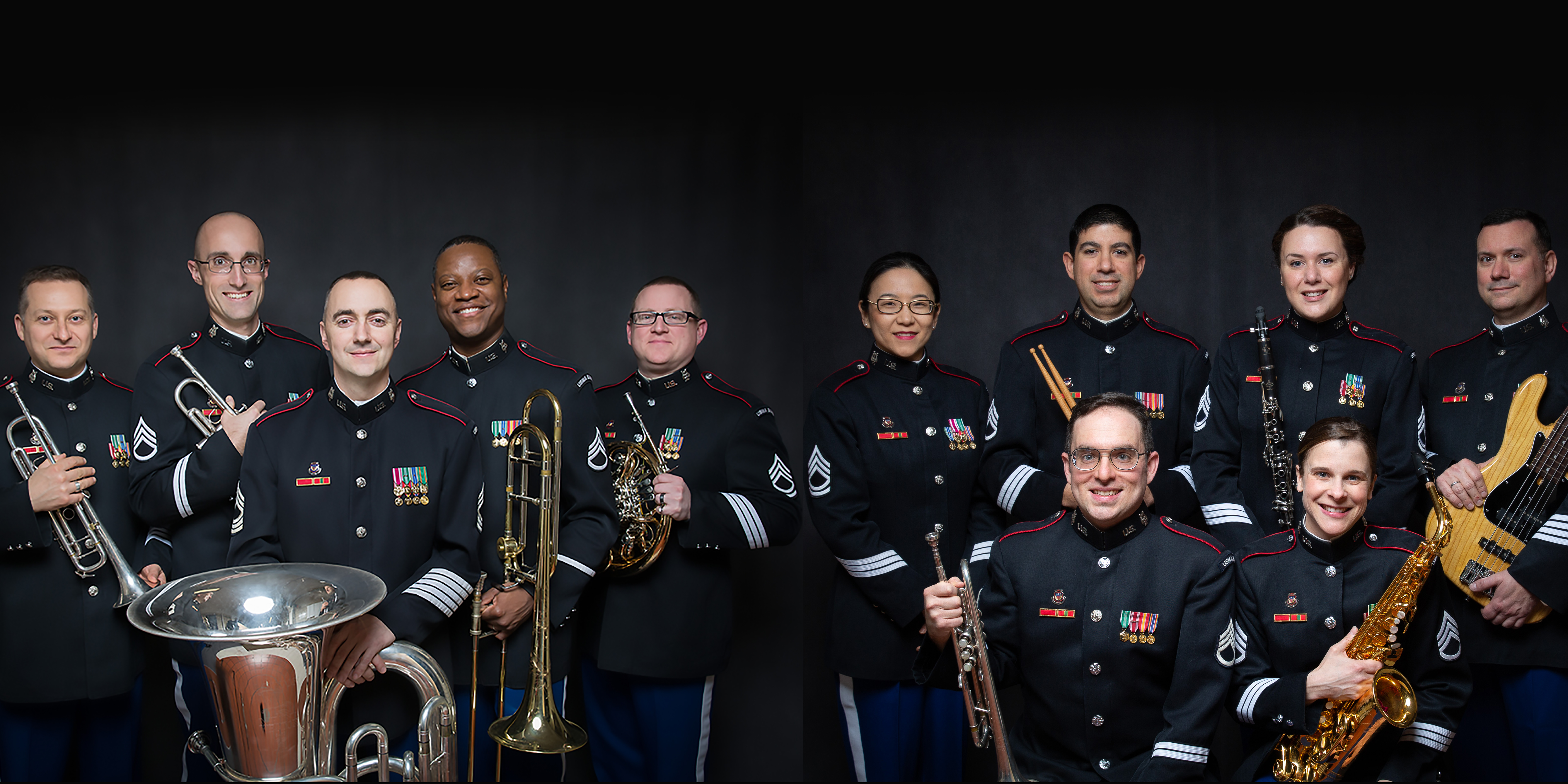 WEST POINT BRASS QUINTET and QUINTETTE 7 Holiday Concert