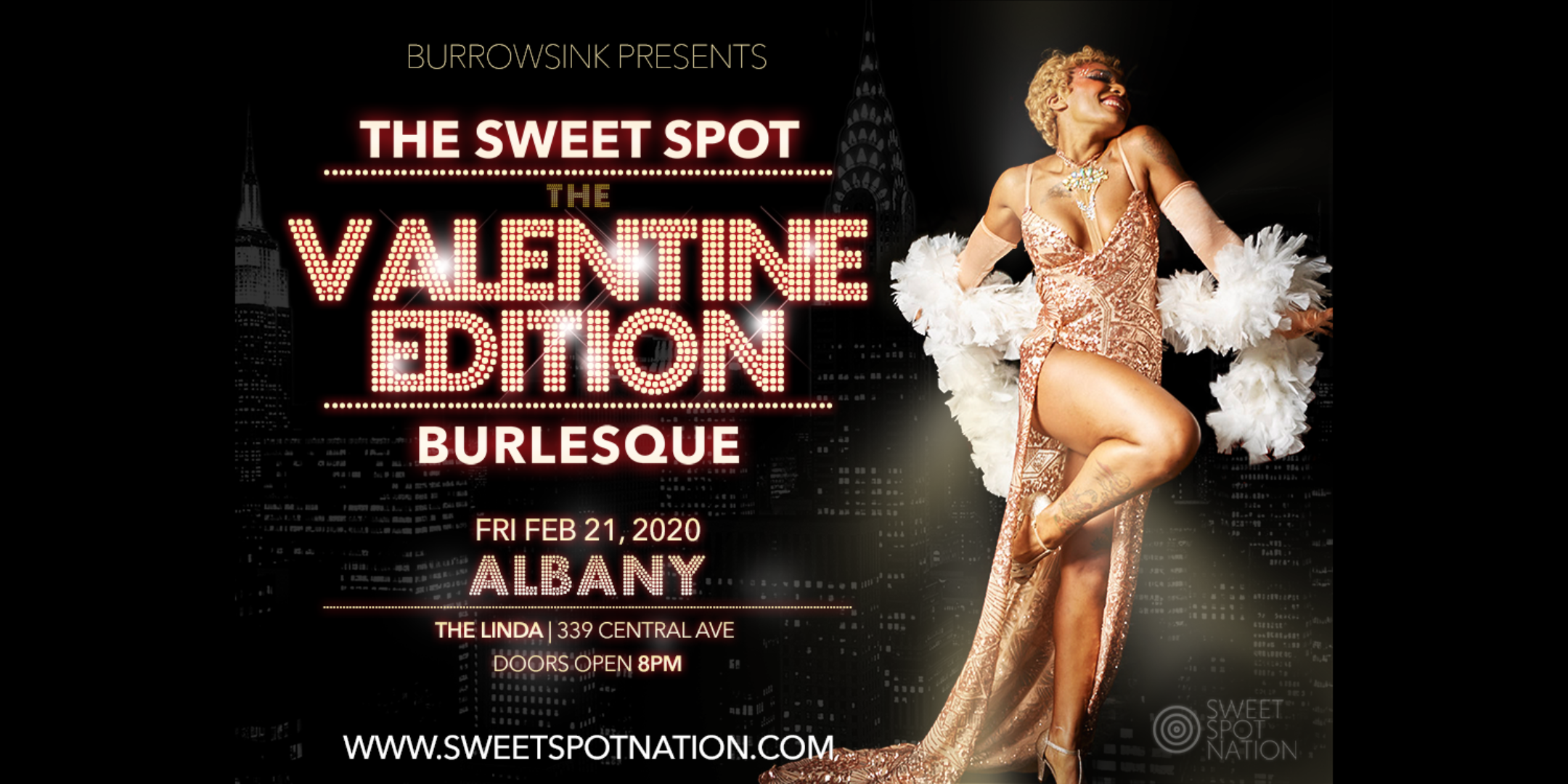 Burlesque! The Sweet Spot Albany: Valentine Edition
